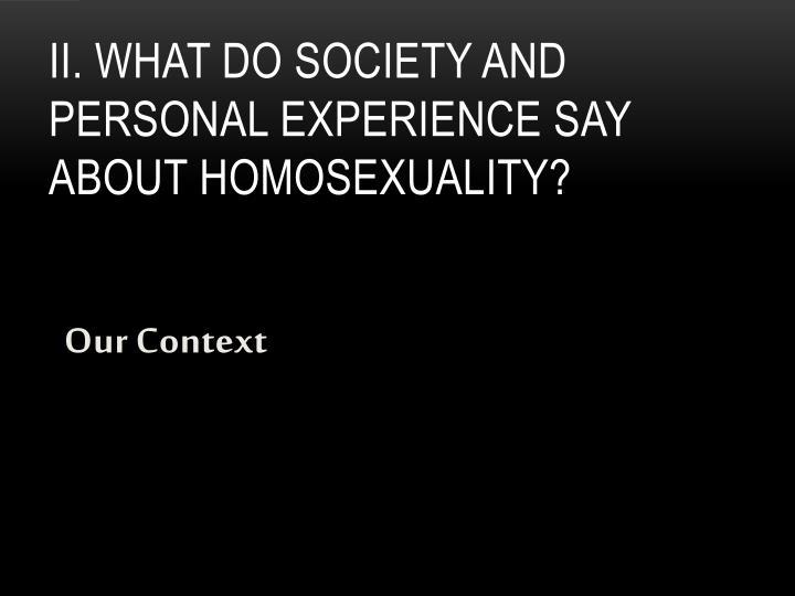 Our Context
