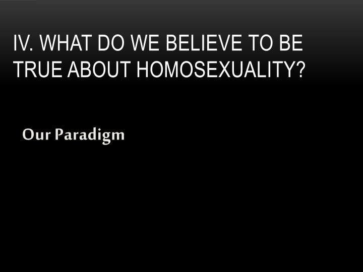 Our Paradigm