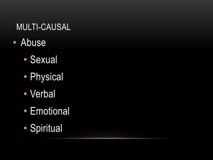 Multi-Causal