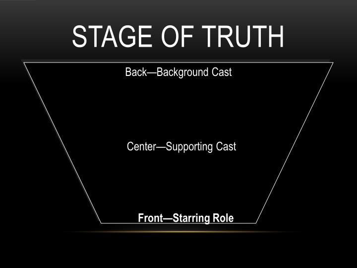 Stage of Truth