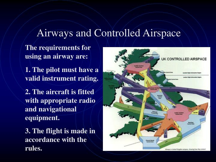 Airways and Controlled Airspace