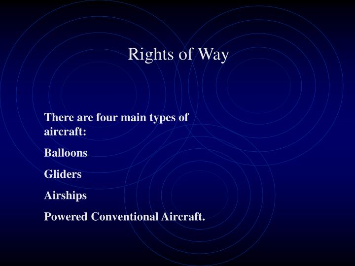 Rights of Way