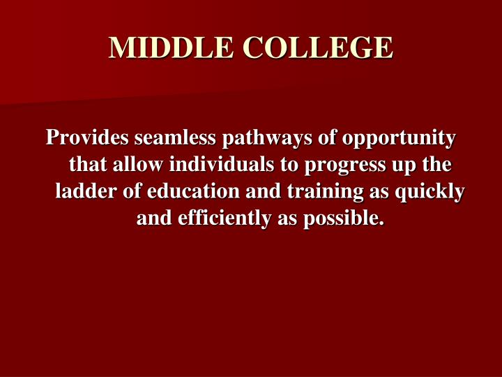 Middle college2