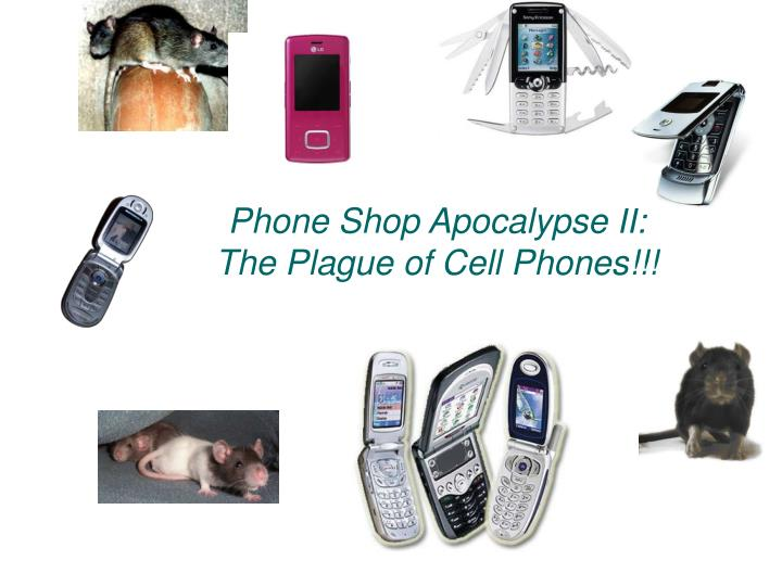 Phone shop apocalypse ii the plague of cell phones