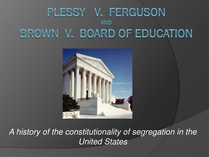 brown vs board of education case essay Board of education court case essay 993 words | 4 pages the brown v board  of education court case served as a highlighted issue in black history brown.