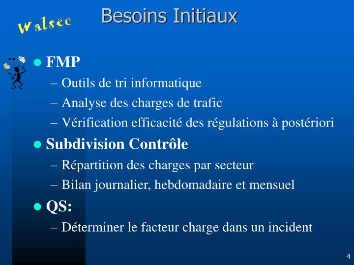 Besoins Initiaux