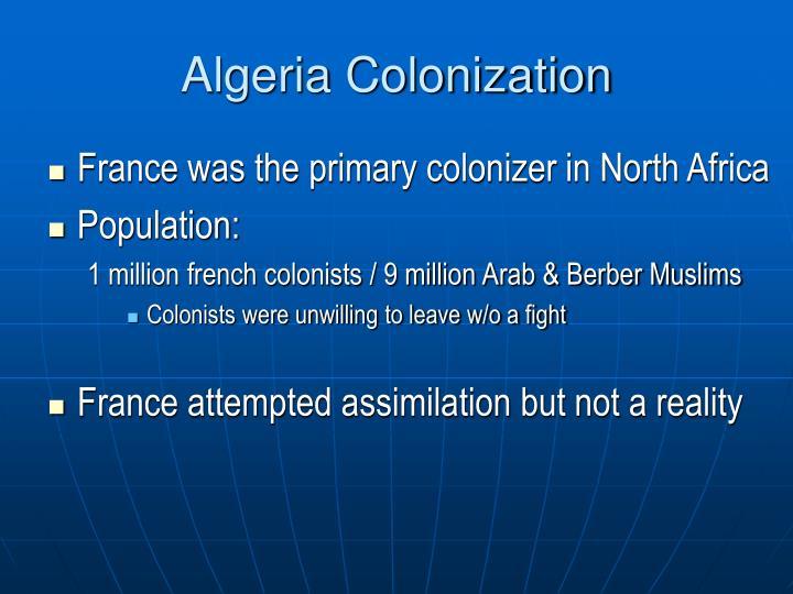 Algeria Colonization