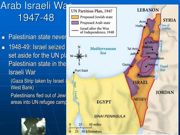 Arab Israeli War