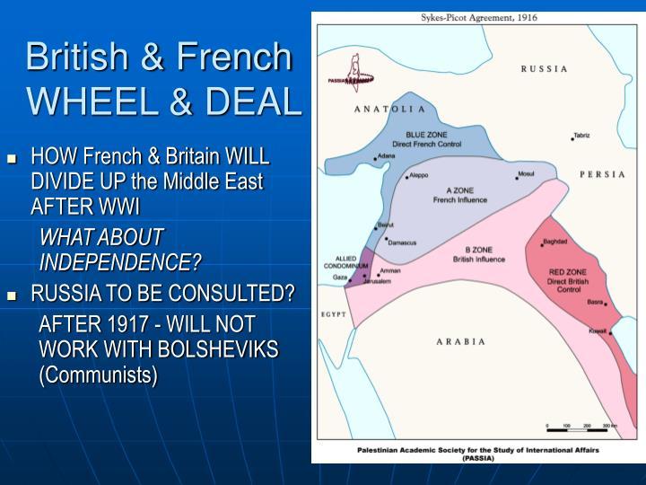 British & French