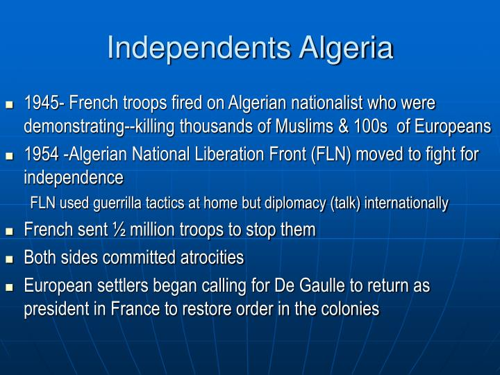 Independents Algeria