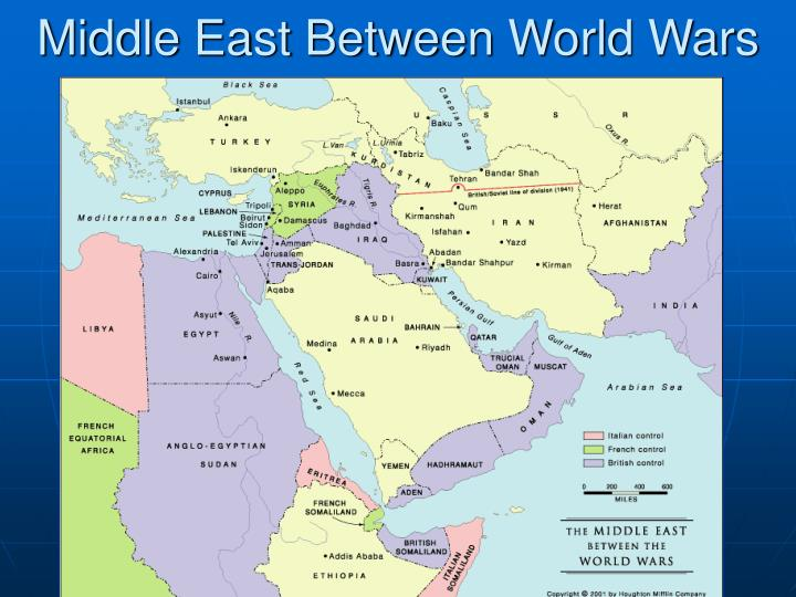Middle East Between World Wars