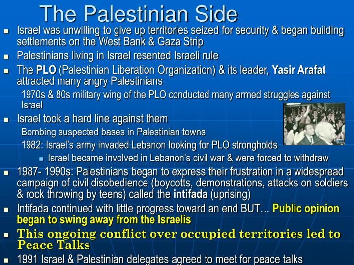 The Palestinian Side