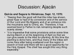 discussion ajac n2