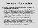 discussion fort caroline3