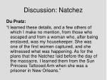 discussion natchez2