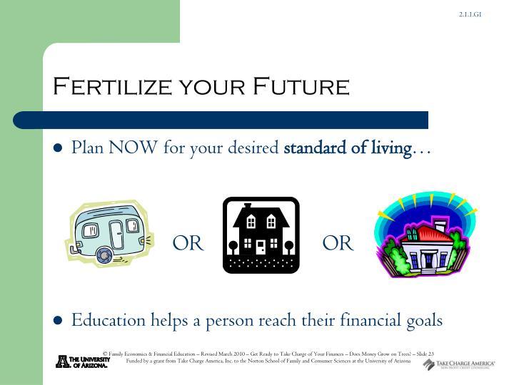 Fertilize your Future