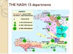 the nash 15 departments