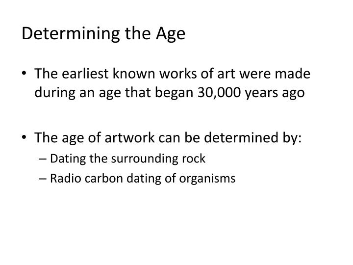 Determining the Age