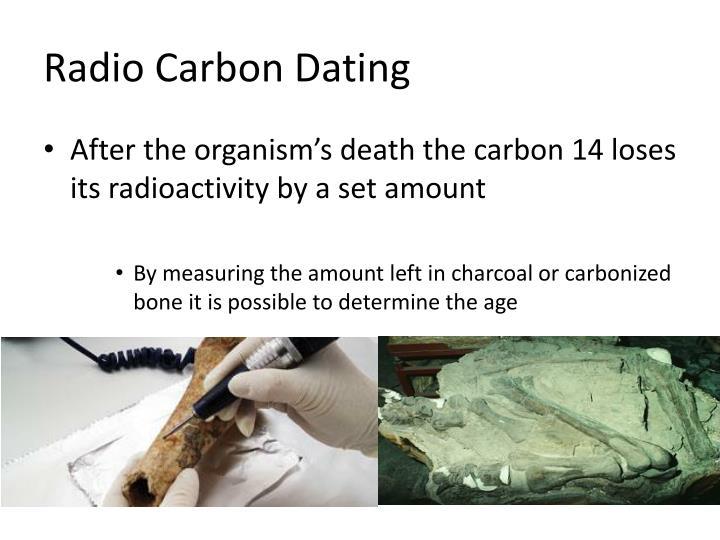Radio Carbon Dating