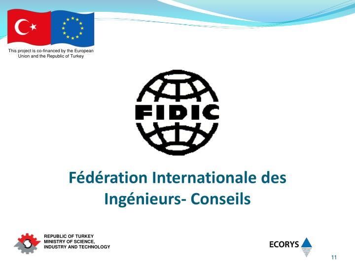 Fédération Internationale des Ingénieurs- Conseils
