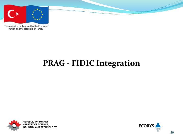 PRAG - FIDIC Integration