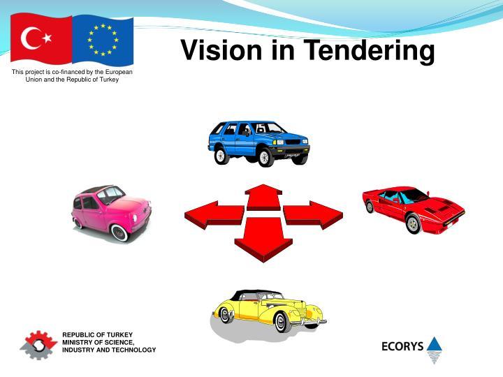 Vision in Tendering