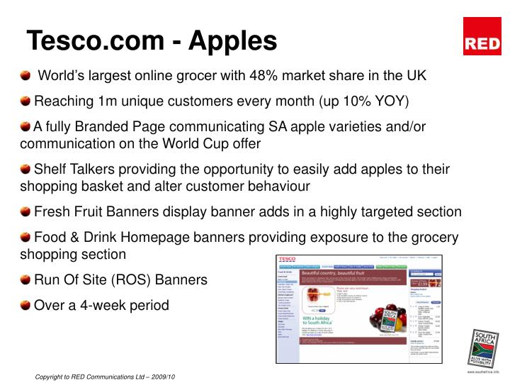 Tesco.com - Apples