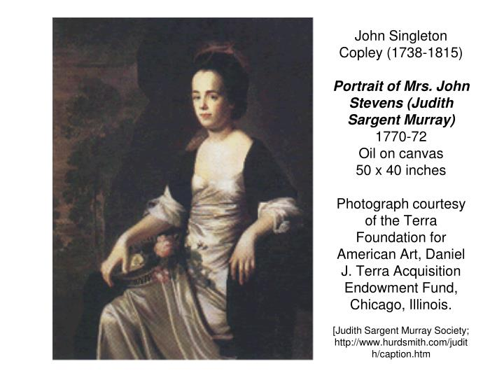 John Singleton Copley (1738-1815)