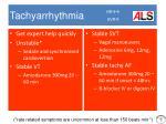tachyarrhythmia