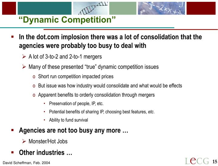 """Dynamic Competition"""
