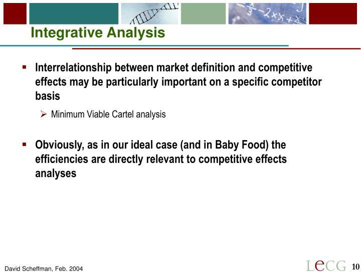 Integrative Analysis