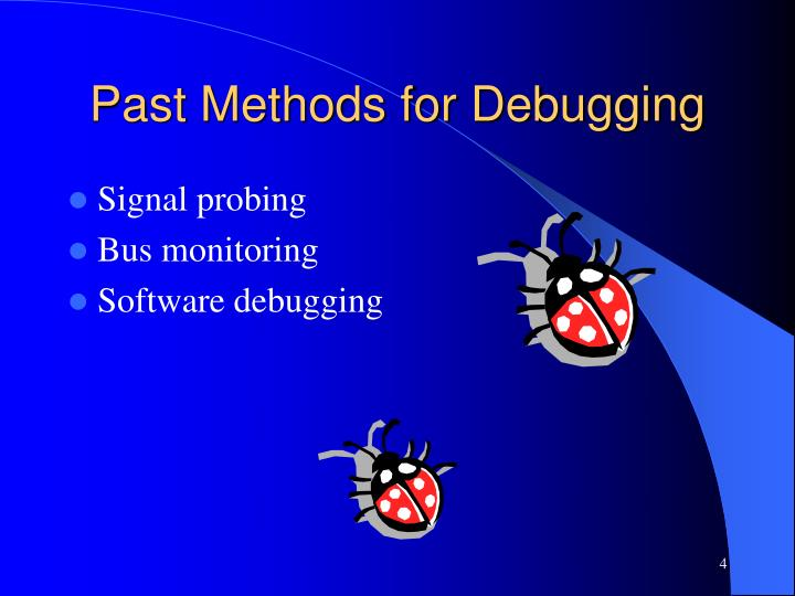 Past Methods for Debugging