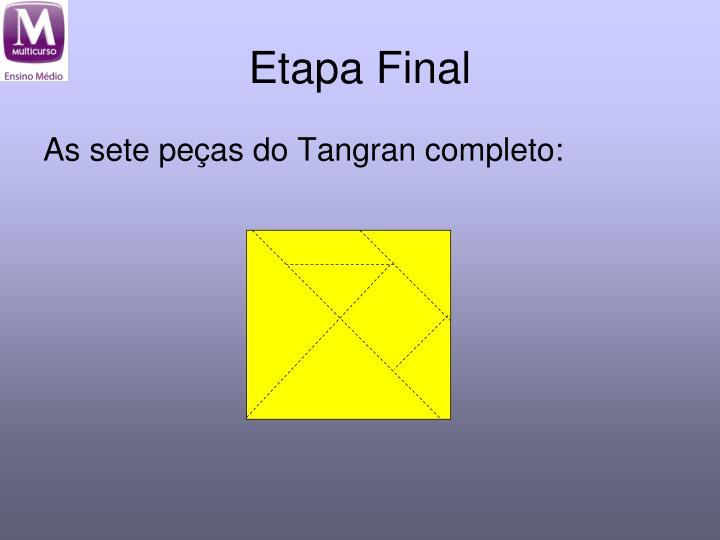 Etapa Final