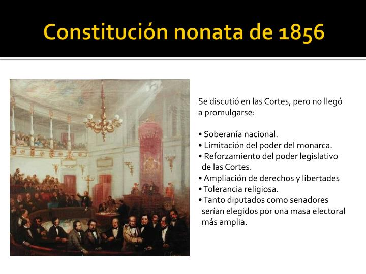 Constitución nonata de 1856