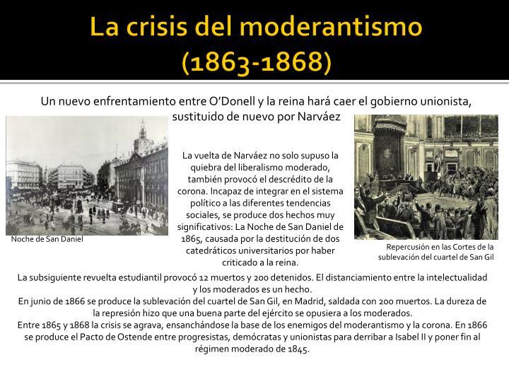 La crisis del moderantismo
