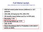 full metal jacket ielasi colombo et al ital j inv cardiol 2009 3 suppl 111