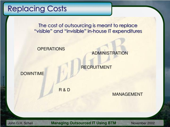 Replacing Costs