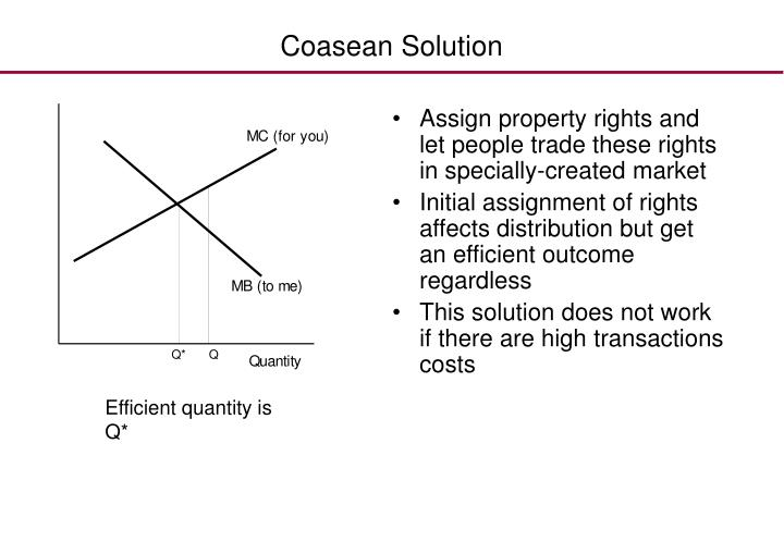 Coasean Solution