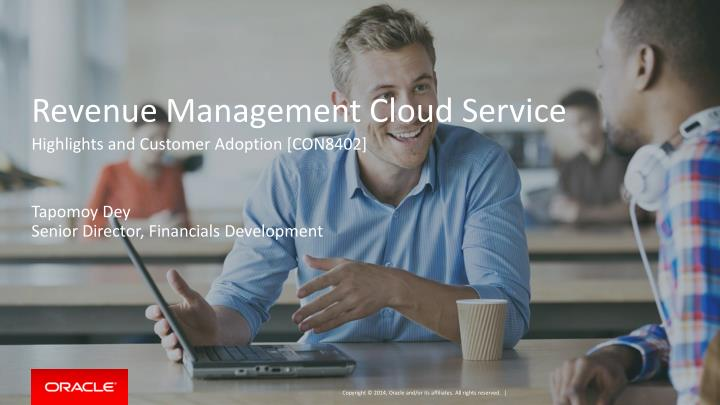 Revenue management cloud service