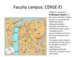 faculty campus cerge ei