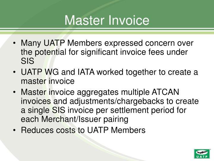 Master Invoice