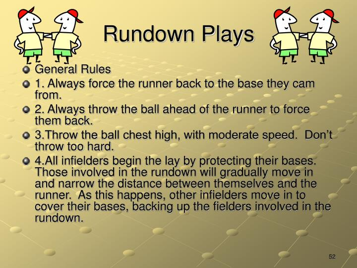 Rundown Plays