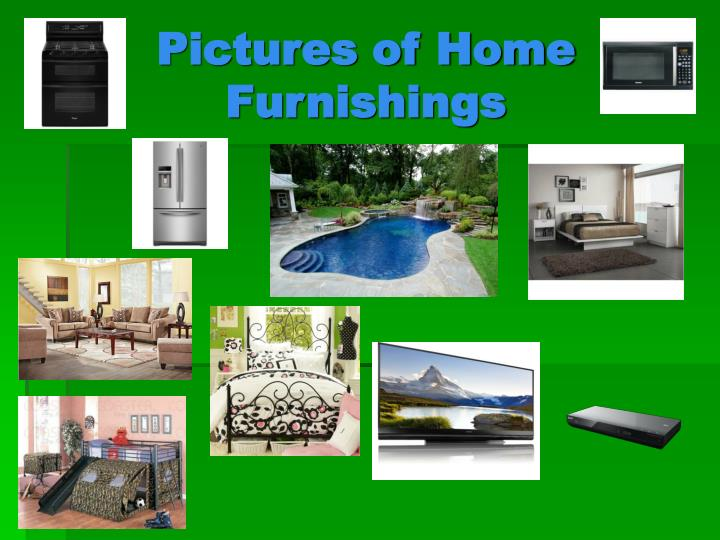 Pictures of Home Furnishings