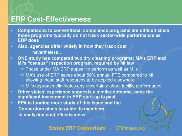ERP Cost-Effectiveness