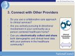3 connect with other providers