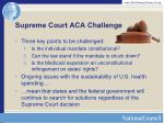 supreme court aca challenge