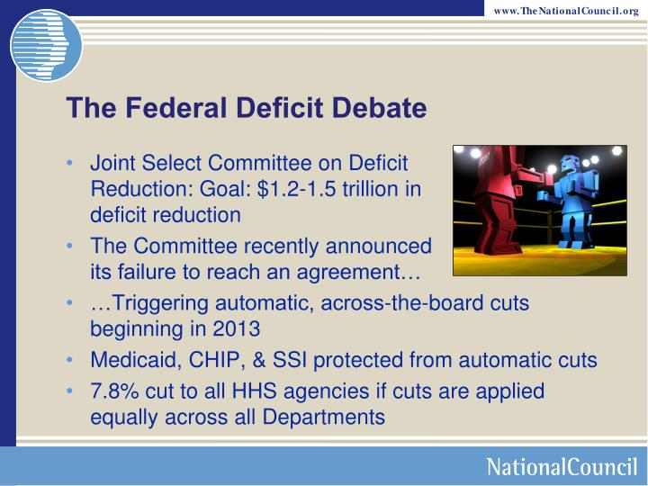 The Federal Deficit Debate