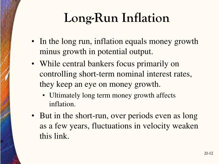 Long-Run Inflation