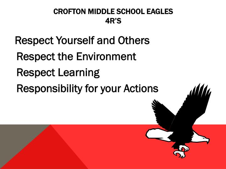 Crofton Middle School Eagles