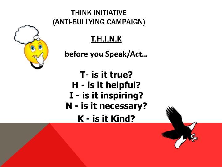 THINK initiative